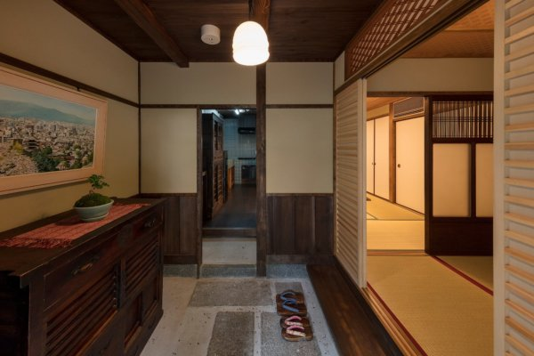 machiya stay kyotoGaraku-an