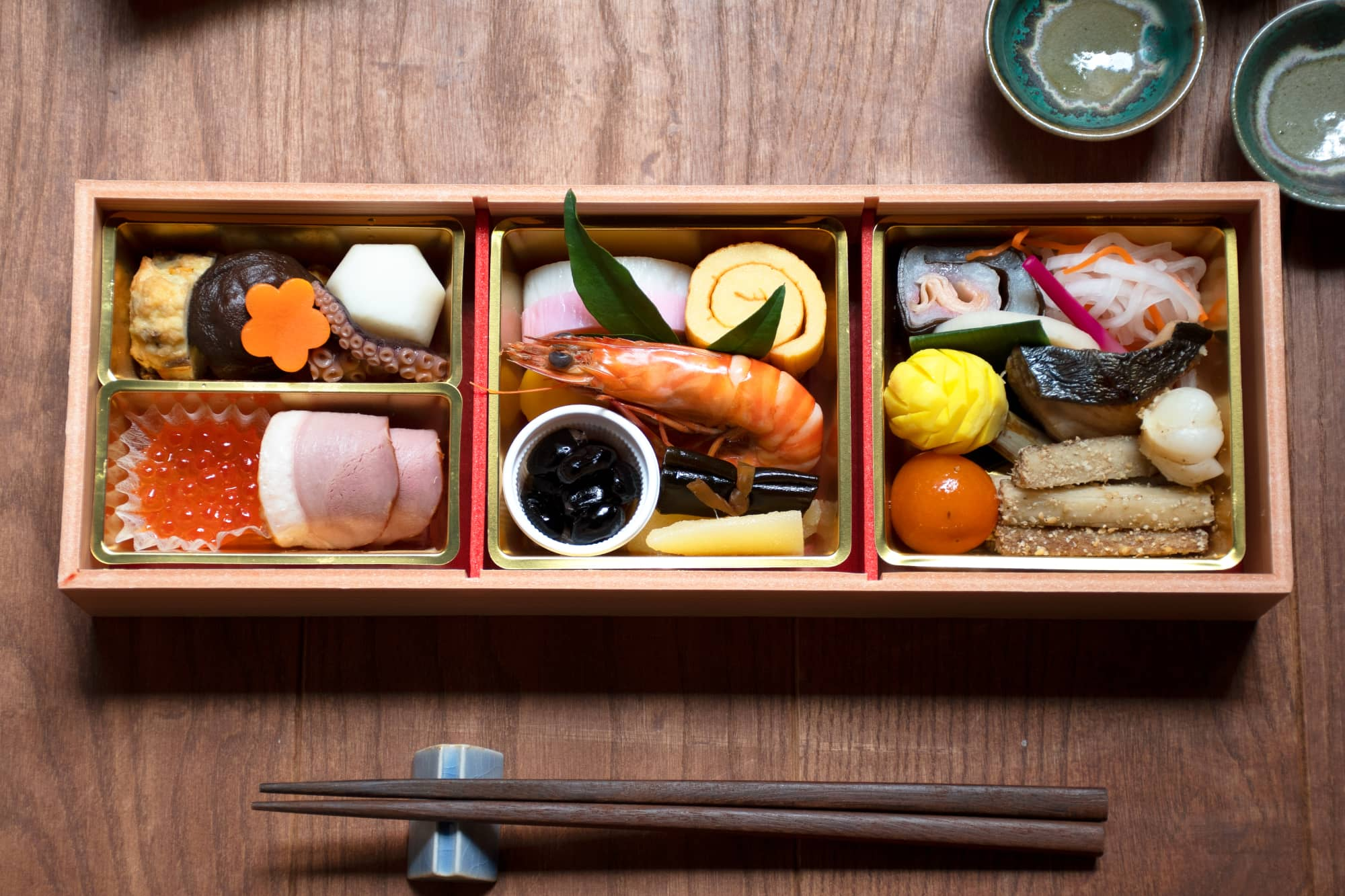 Traditional New Year Breakfast: Osechi