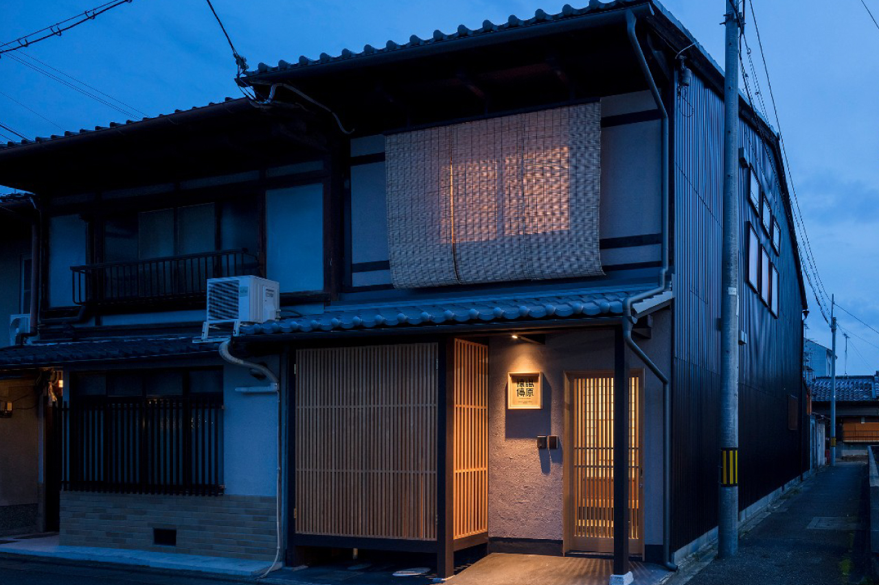 Koshi Wooden Lattice - Machiya House Features